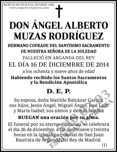 Ángel Alberto Muzas Rodríguez